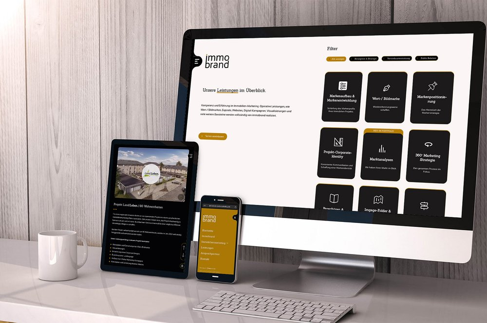 immobrand Marketing GmbH – Website
